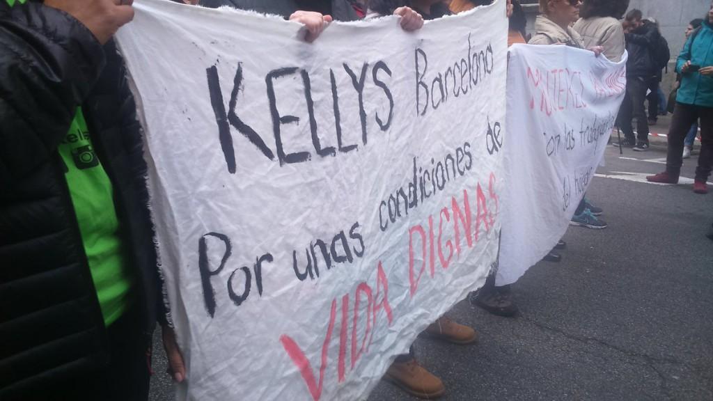Les Kellys plantejaran les seues reivindicacions al Parlament Europeu al setembre