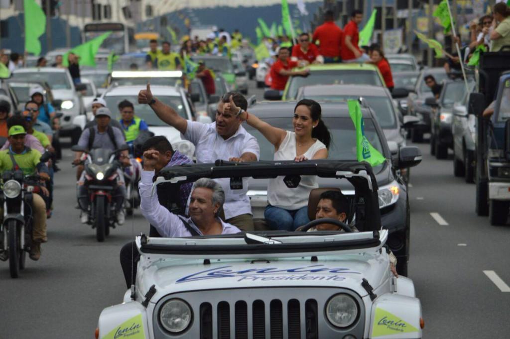 Las presidenciales de Ecuador tendrán una segunda vuelta entre Moreno y Lasso
