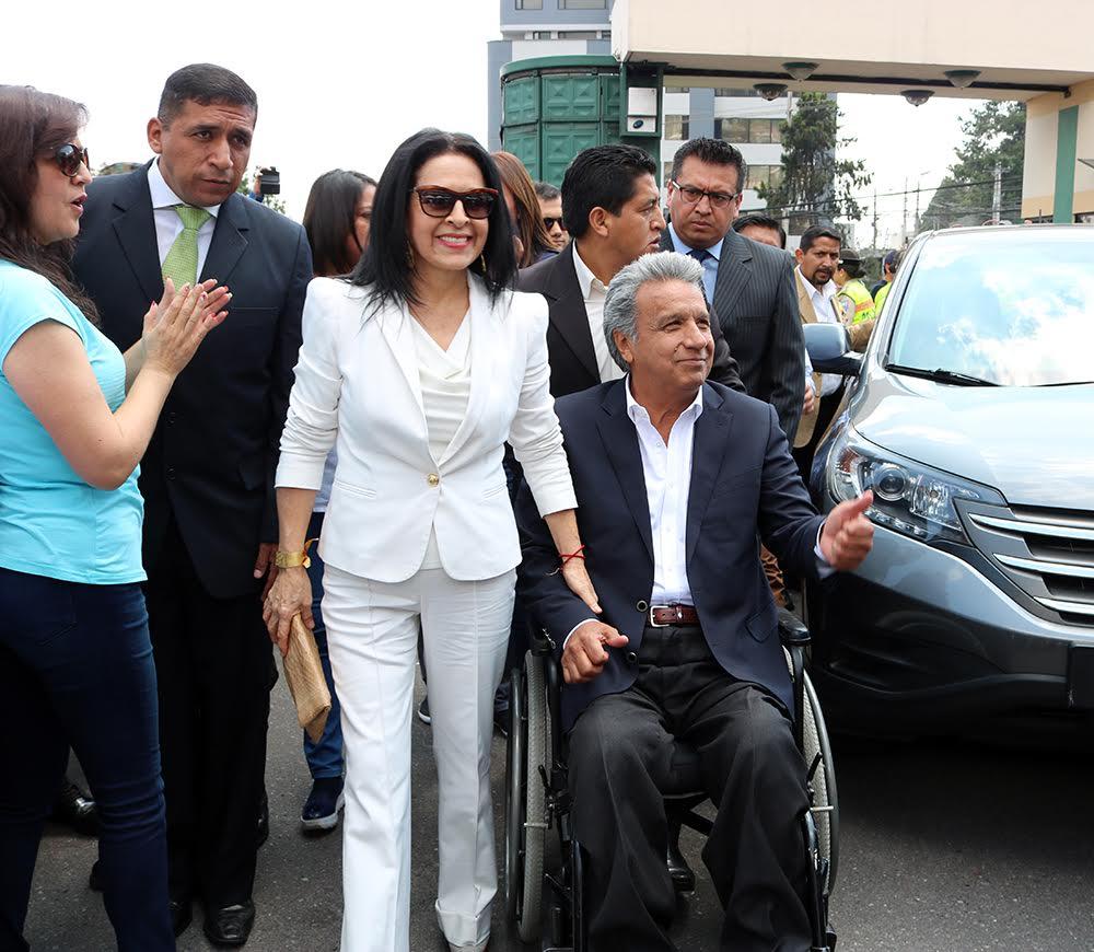 Lenín Moreno, candidato de Alianza País, se vislumbra como ganador en las presidenciales de Ecuador