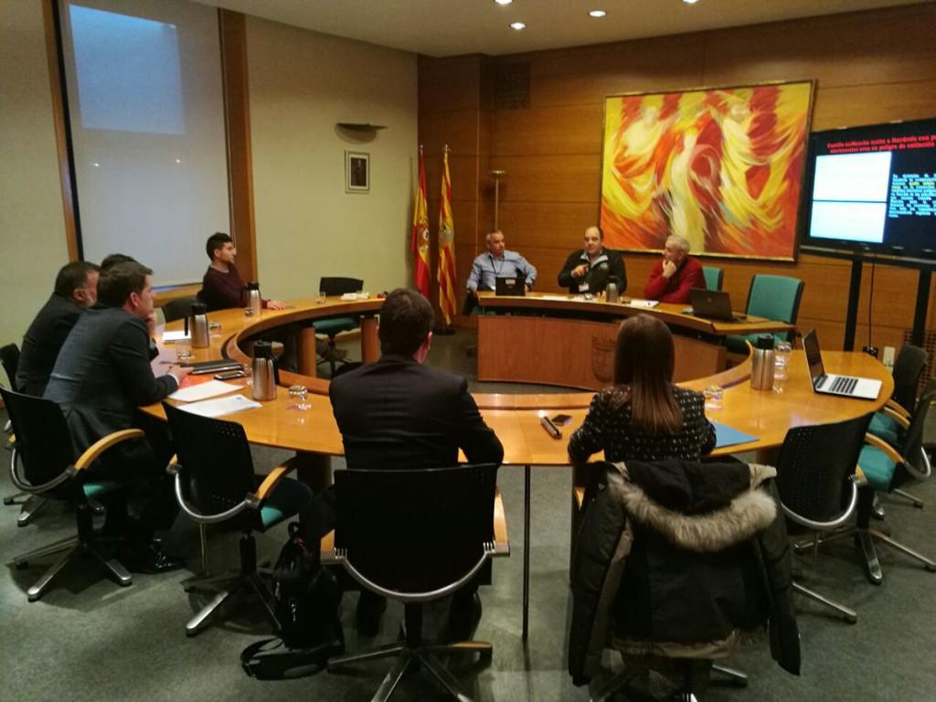La Plataforma Sos Tendidos Eléctricos se reúne con los Grupos Parlamentarios en las Cortes