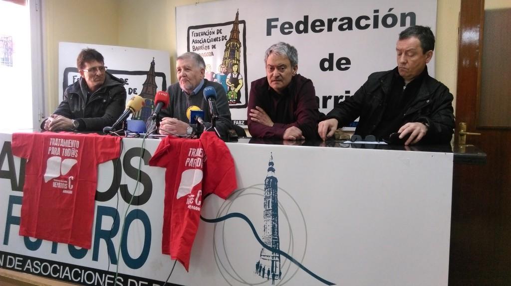La Plataforma de Personas Afectadas de Hepatitis C de Aragón denuncia descoordinación en los servicios sanitarios
