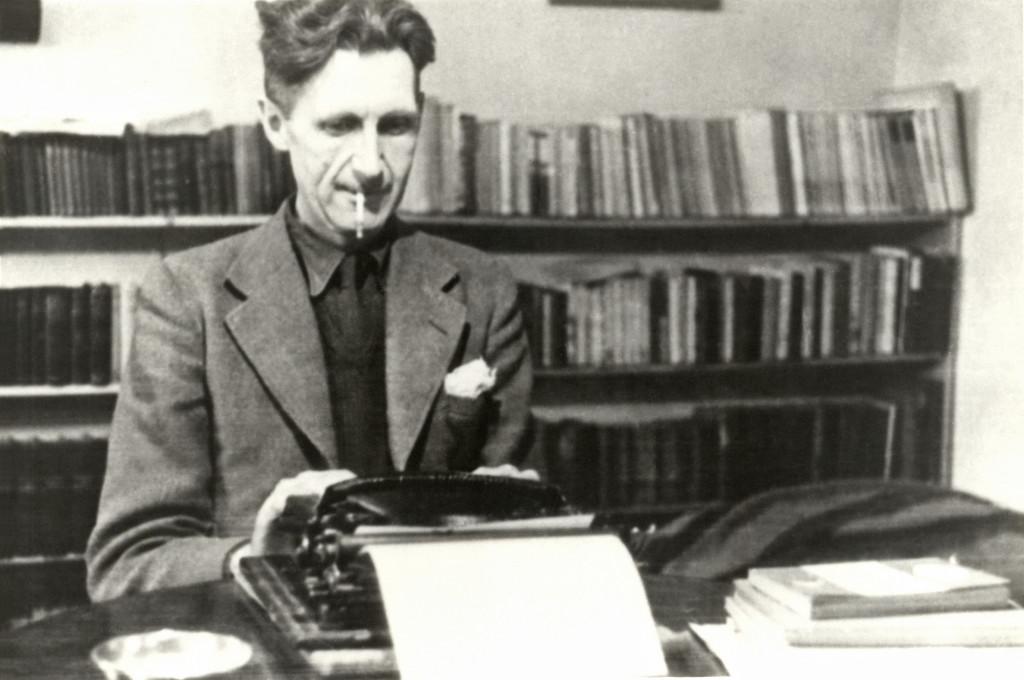 "George Orwell: ""Prometo firmemente tomarme un café en Huesca"""