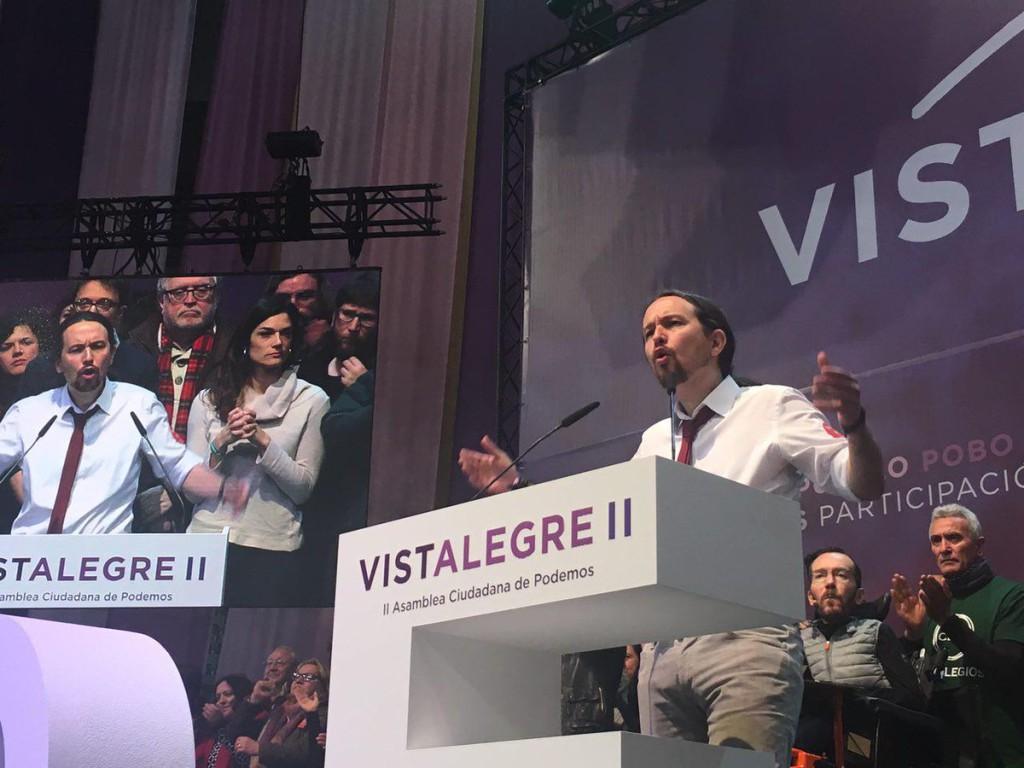 El proyecto de Pablo Iglesias se impone en Vistalegre