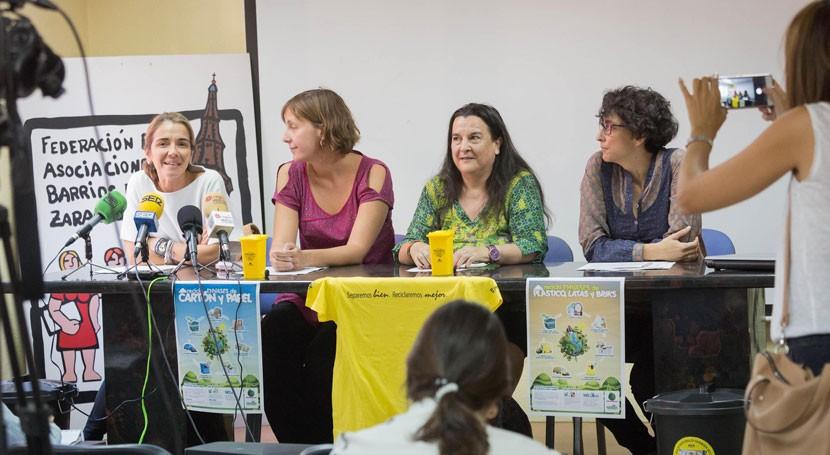 Clausura del programa Zaragoza Recicla en el Barrio Oliver