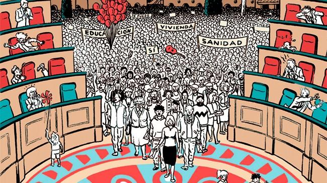 Nociones Comunes organiza un encuentro en el Luis Buñuel en el que reflexionar sobre la democracia