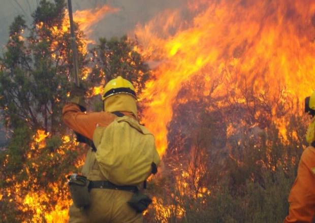 """CCOO define de """"low cost"""" el servicio contra incendios forestales"""