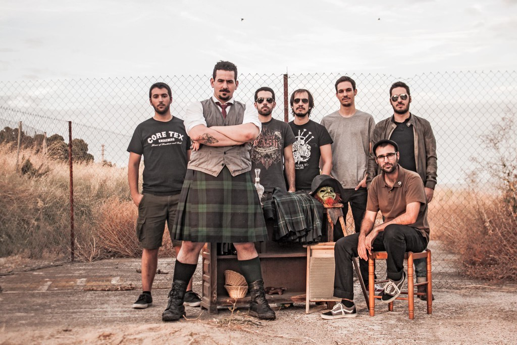 13krauss, Screamers & Sinners y Dingle Basterds en el St Patrick's Day Zaragoza