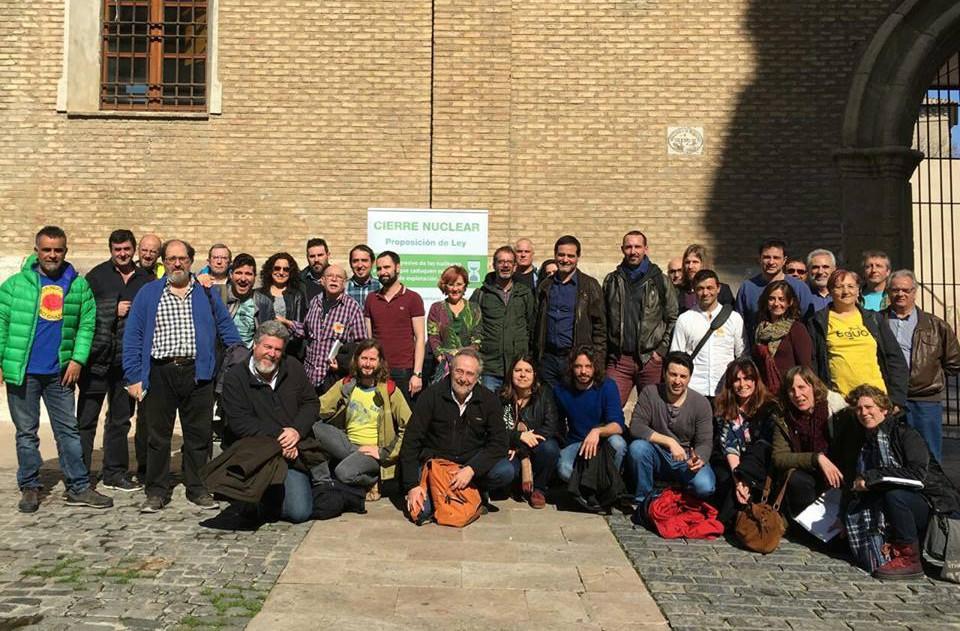 Unidos Podemos impulsa en Zaragoza el manifiesto ciudadano e interparlamentario 'Nunca más Garoña'