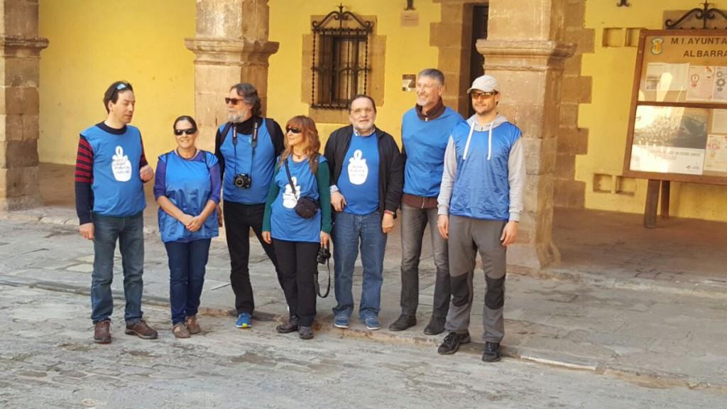 Albarracín, Mora de Rubielos y Monreal del Campo destinos de la Caravana por el Agua Pública este pasado fin de semana