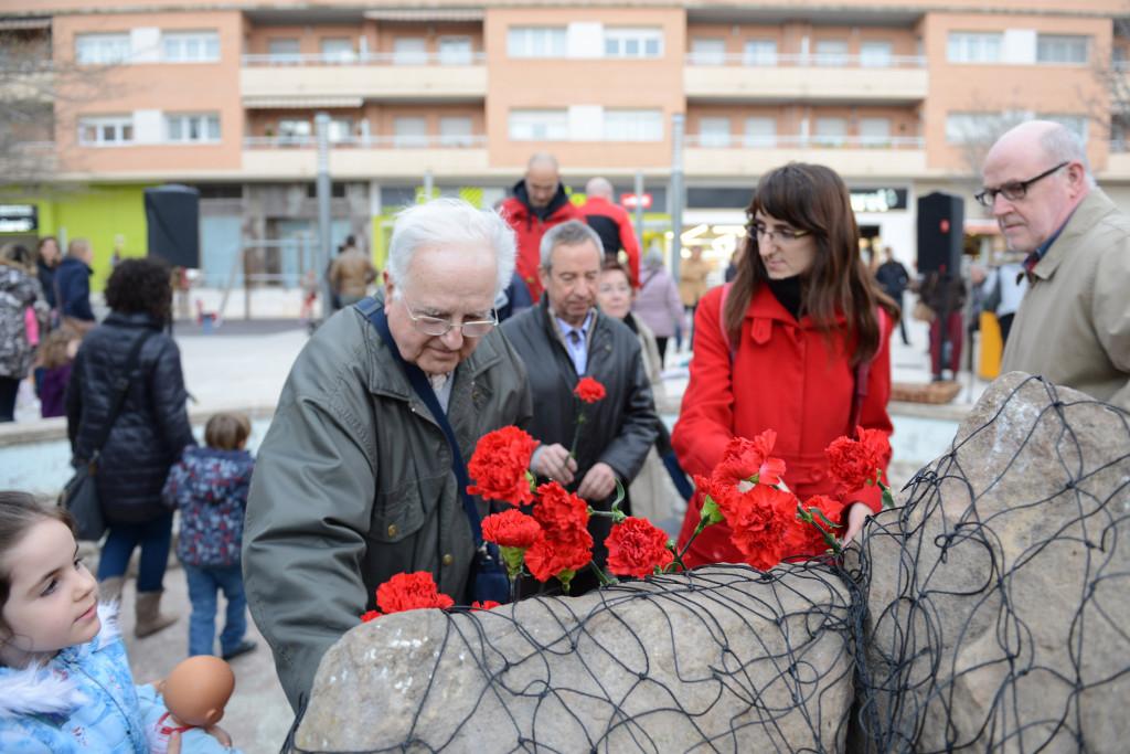Alcanyiz recuerda con varios actos a las víctimas del bombardeo fascista de 1938