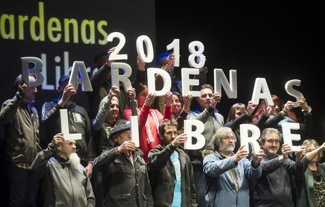 Bardenas Libres 2018 continúa dando forma a la campaña sobre el derecho a decidir el futuro del polígono de tiro