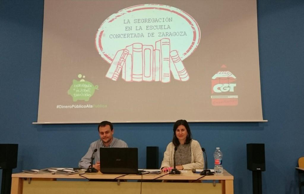 CGT denuncia que el 60% de la escuela concertada en Zaragoza discrimina al alumnado con necesidades específicas