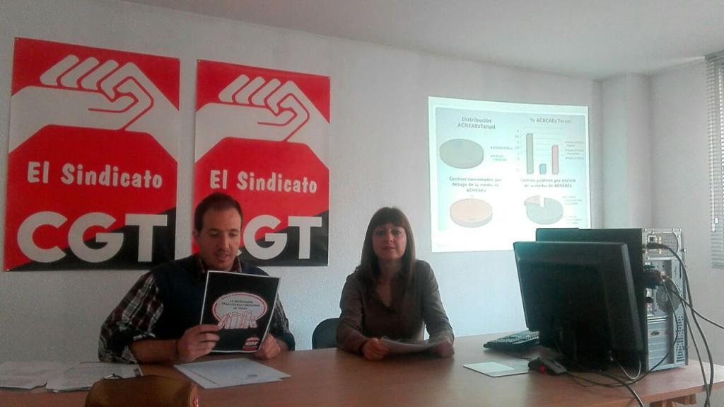 """CGT alerta de """"segregación"""" en la escuela concertada de Teruel"""