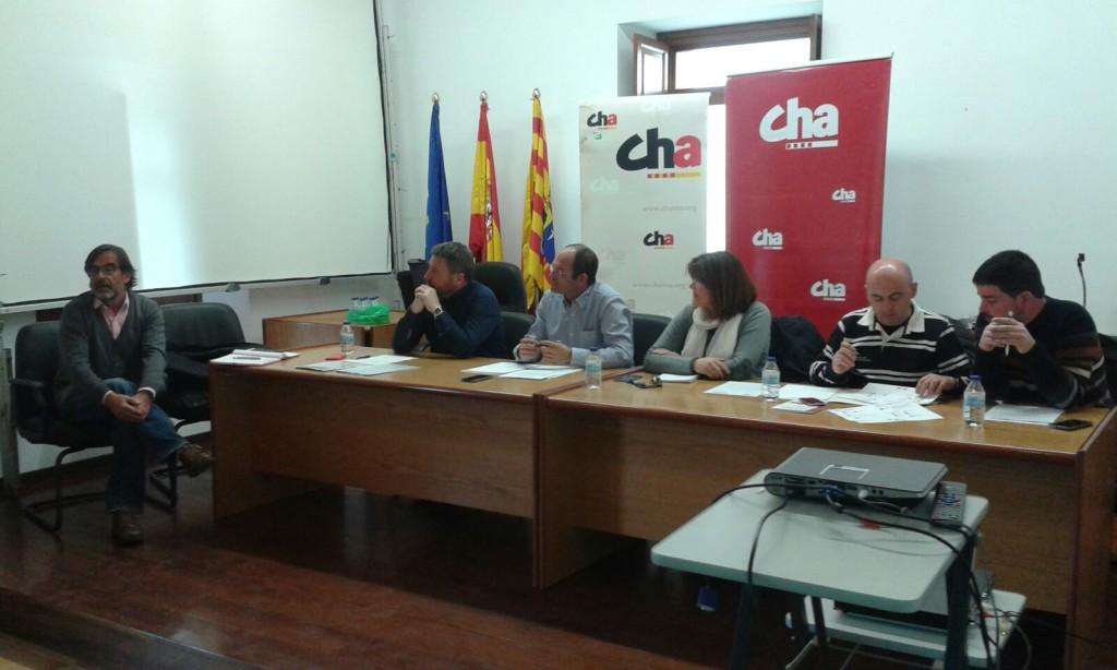 CHA muestra su apoyo al corredor Sagunto-Teruel-Zaragoza