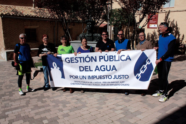 La Caravana por el Agua Pública, desde Monreal del Campo hasta Morata de Xalón
