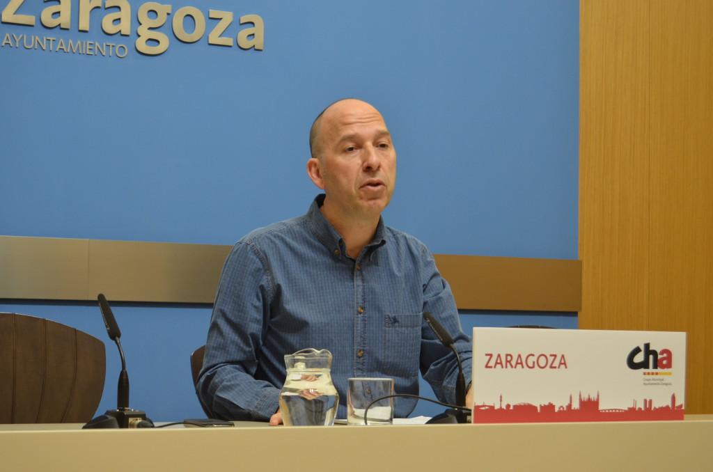 CHA reclama que el dinero recaudado con el ICA en Zaragoza se reinvierta en la ciudad