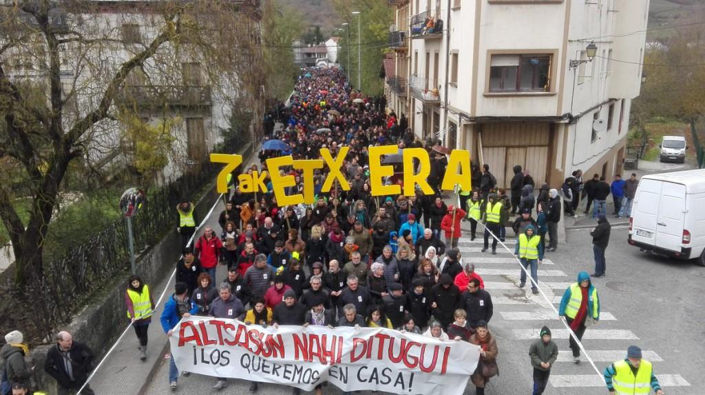 La Audiencia de Nafarroa afirma que la trifulca de Altsasu debe instruirse en Iruñea