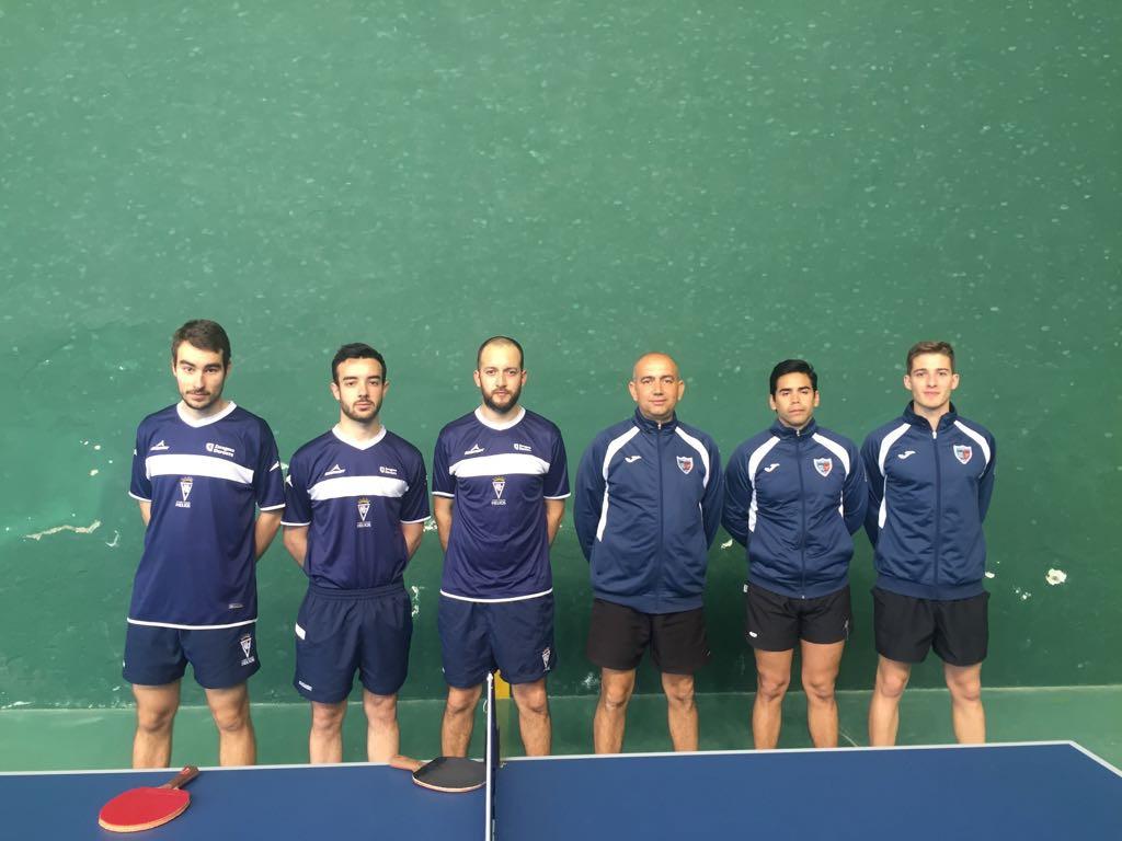 Nueva victoria del CN Helios, virtualmente clasificado para la fase de ascenso a Superdivisión de Tenis de Mesa