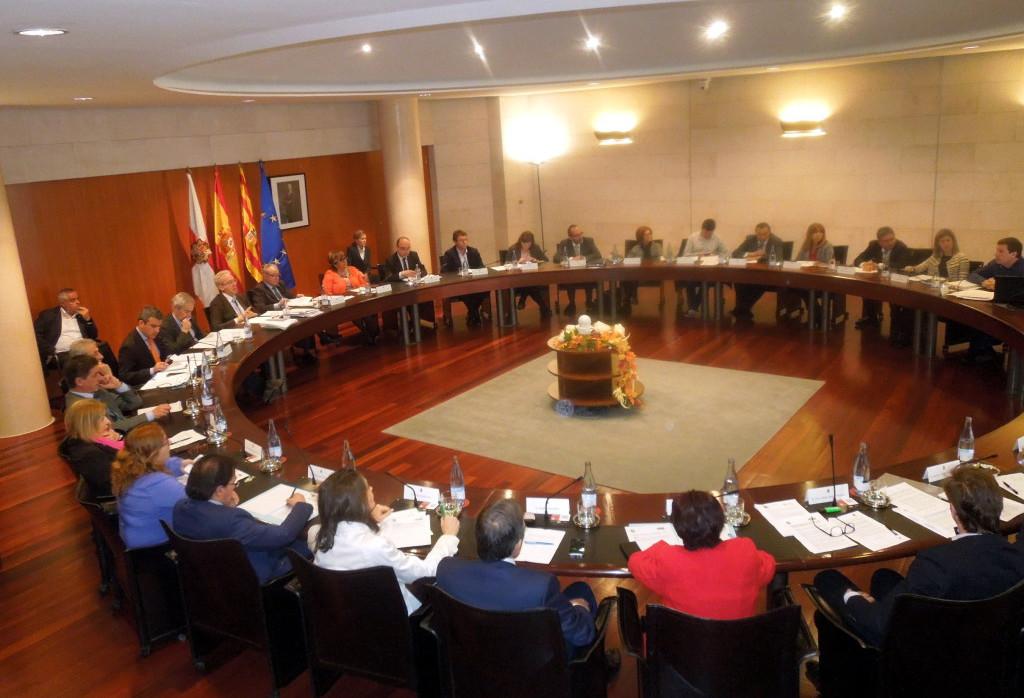 La Diputación de Uesca se une para reclamar una financiación estable para ayuntamientos y comarcas