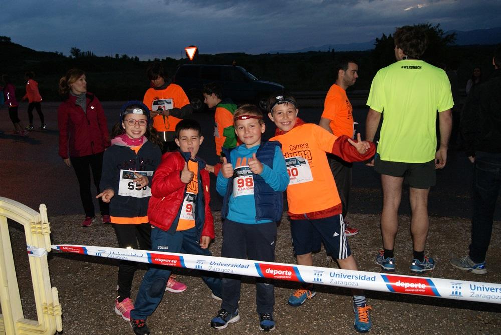 El campus universitario y el Club de Atletismo Huesca lanzan una nueva edición de la carrera nocturna contra la hipertensión