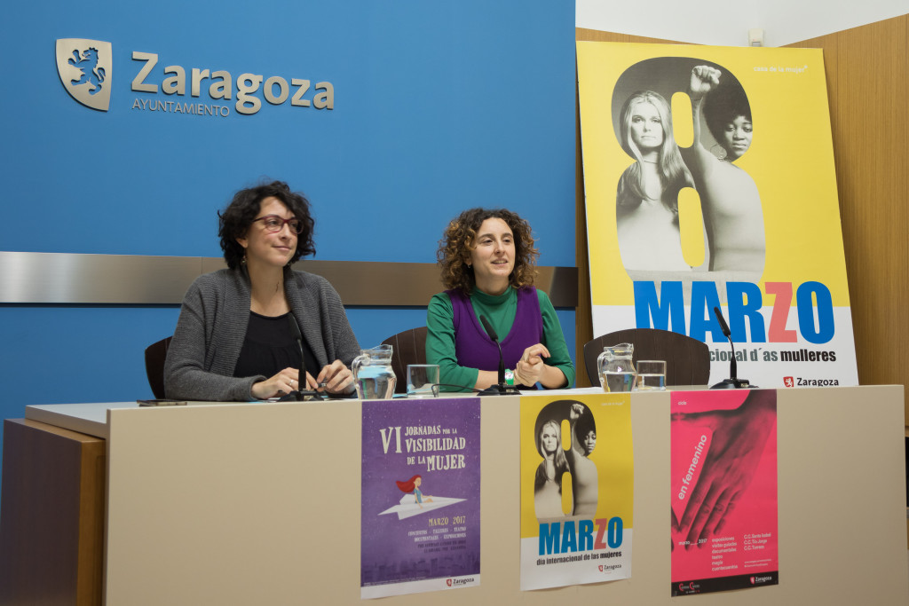 Zaragoza se vuelca con el Día Internacional de las Mujeres con diversas actividades durante el mes de marzo