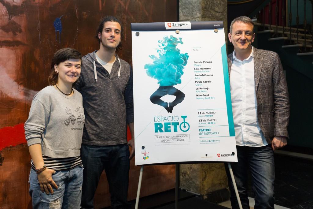 La Escuela de Circo Social y el Teatro del Mercado unen sus fuerzas para desarrollar 'Espacio Reto'