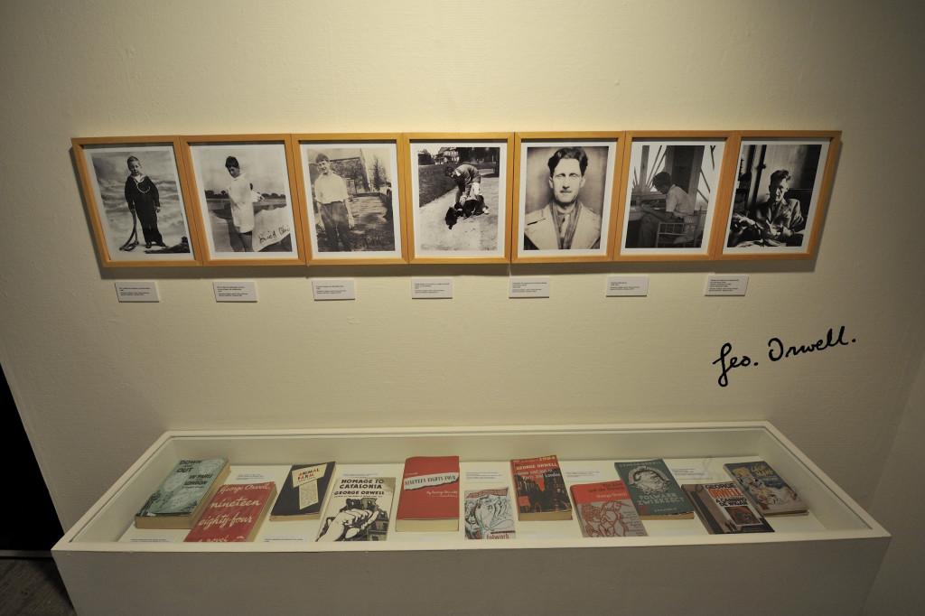 La exposición de Orwell supera ya las 4.000 personas y contará con nuevas actividades hasta finales de junio