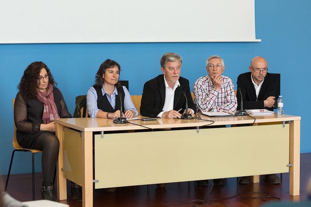 Santisteve se compromete con la FAS a trabajar para dedicar el 0,5% del presupuesto a cooperación internacional