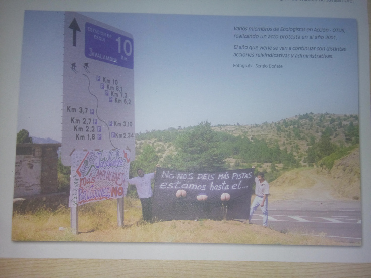 Calvos contra el ecocidio aragonés