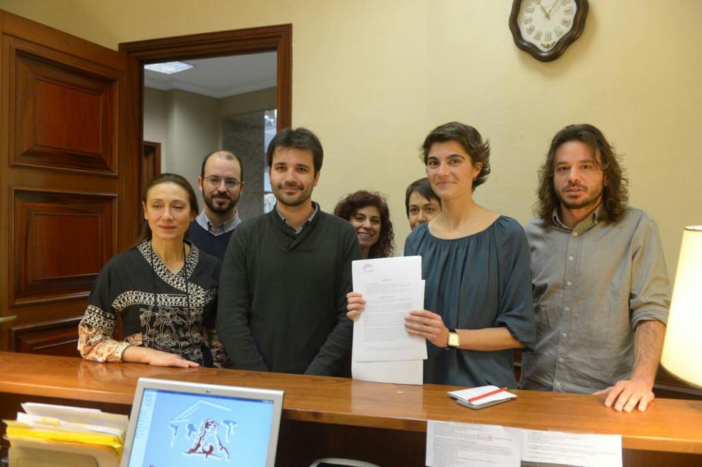 Unidos Podemos-En Común-En Marea lleva al Congreso español la prohibición del fracking
