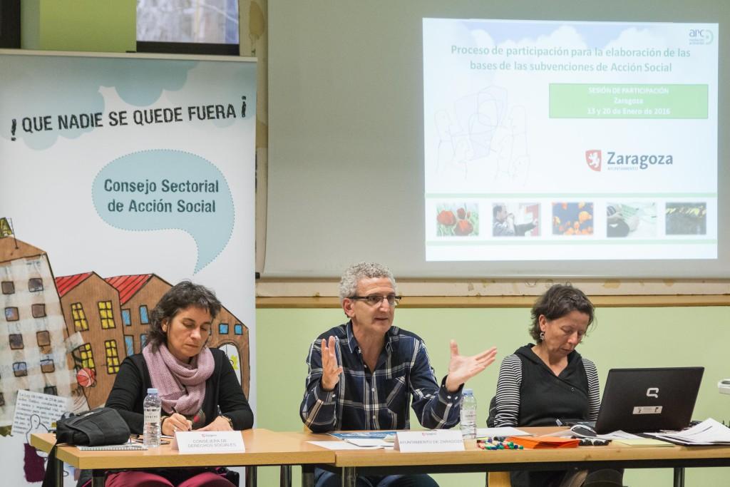 Seleccionados 146 proyectos de entidades para las subvenciones de Acción Social 2017 en Zaragoza
