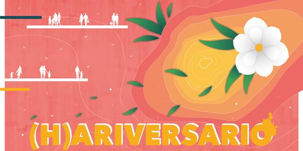 Harinera 1 año banner