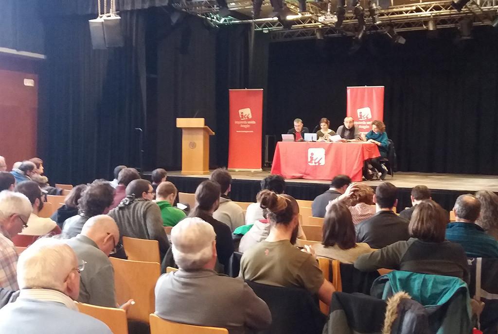 """Raúl Ariza: """"Seguimos construyendo una alternativa netamente de izquierdas al servicio de la mayoría social"""""""