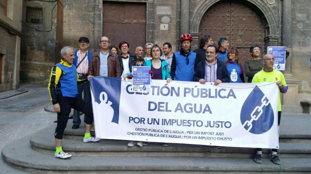 """Alto Aragón en Común advierte que la DGA cambia de posición sobre las depuradoras, """"forzada por la presión social y política"""""""