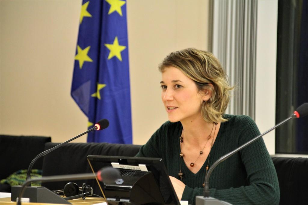 """Marina Albiol exigeix a la UE que """"condemne amb rotunditat"""" la repressió policial a Catalunya i expediente al Govern de Rajoy"""