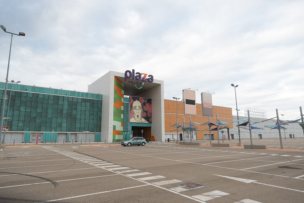 El centro comercial Plaza Imperial, en Zaragoza. Foto: Pablo Ibáñez (AraInfo)