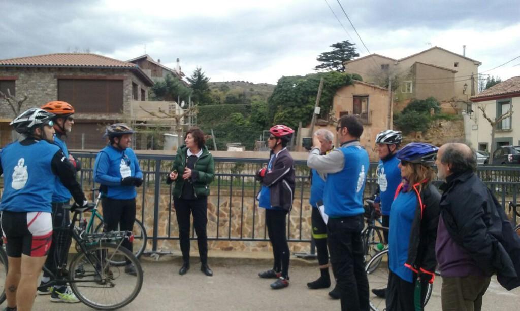 La Caravana por el Agua Pública atraviesa la comarca del Moncayo