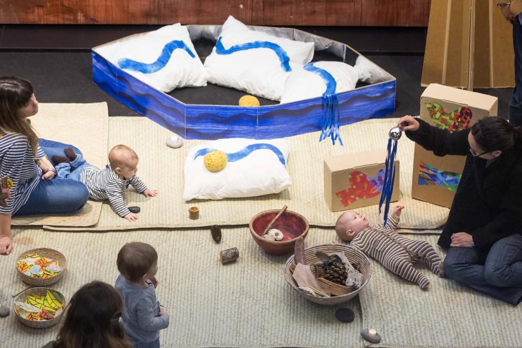 'Cucú', un festival de artes escénicas para bebés