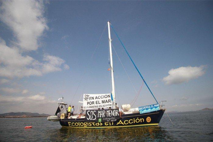 Ecologistas en Acción lanza una campaña de financiación colectiva para reparar su velero Diosa Maat