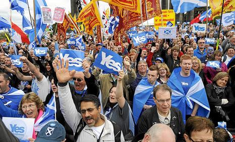 Escocia celebrará su segundo referéndum de independencia entre el otoño de 2018 y la primavera de 2019