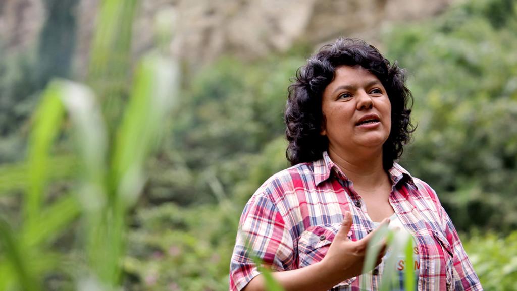 El Aula Verde de Uesca recibirá el nombre de Berta Cáceres