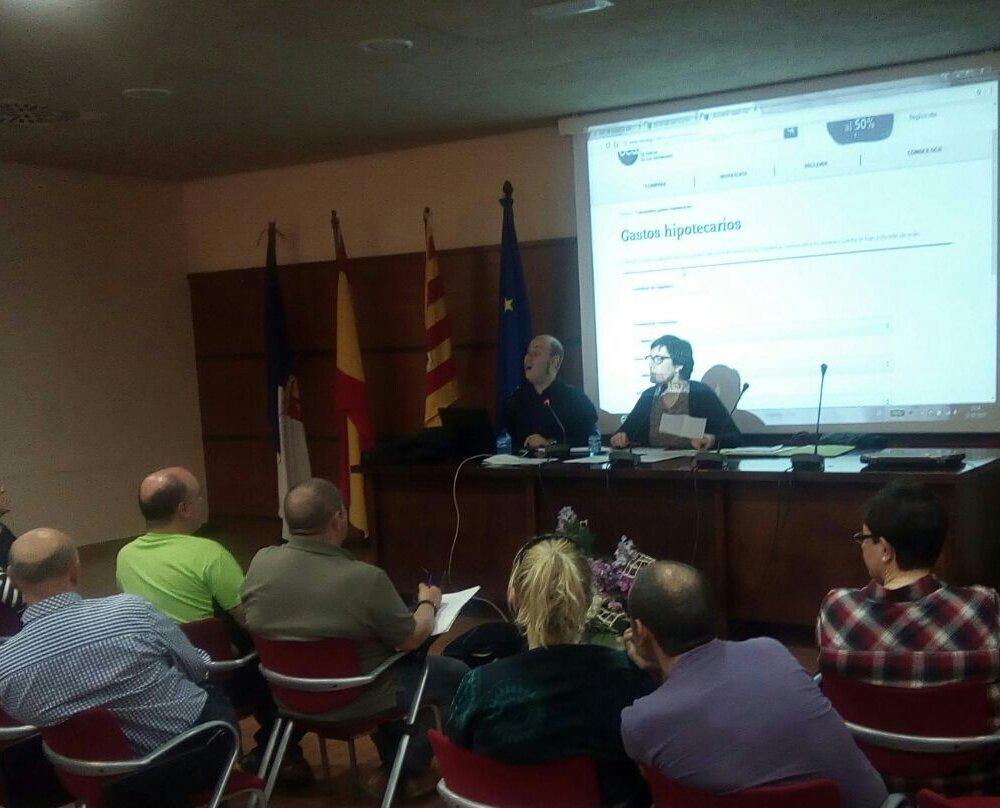 CHA ofrece una charla taller gratuita para identificar y recuperar lo pagado por las cláusulas suelo