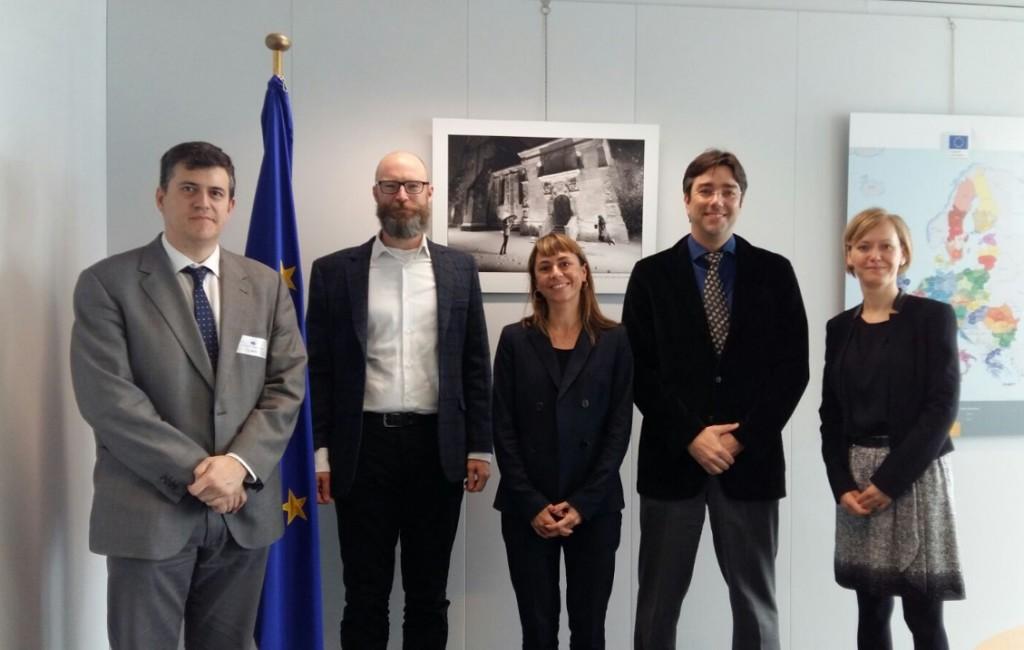 Joaquín Palacín traslada a la Unión Europea la situación de despoblación en Aragón