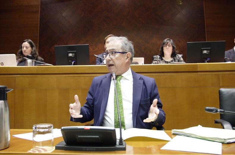 Críticas de la oposición al proyecto de ley de presupuestos de Aragón para 2017