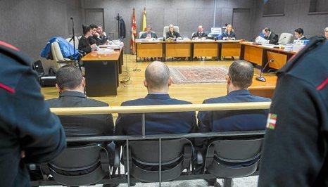 Termina el juicio a cuatro guardias civiles acusados de torturar y agredir sexualmente a Sandra Barrenetxea