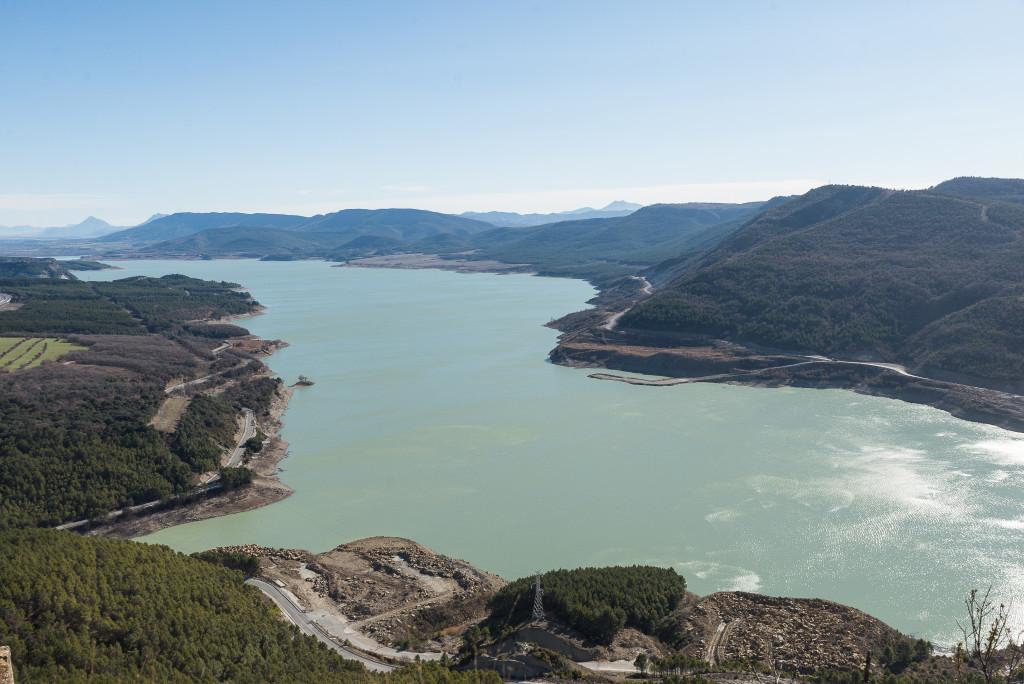 Preocupación por las expropiaciones en Sigüés y por los riesgos geológicos de Yesa