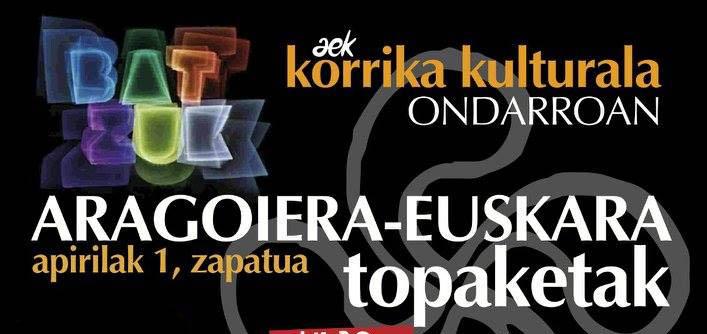El aragonés vuelve a estar presente en Korrika
