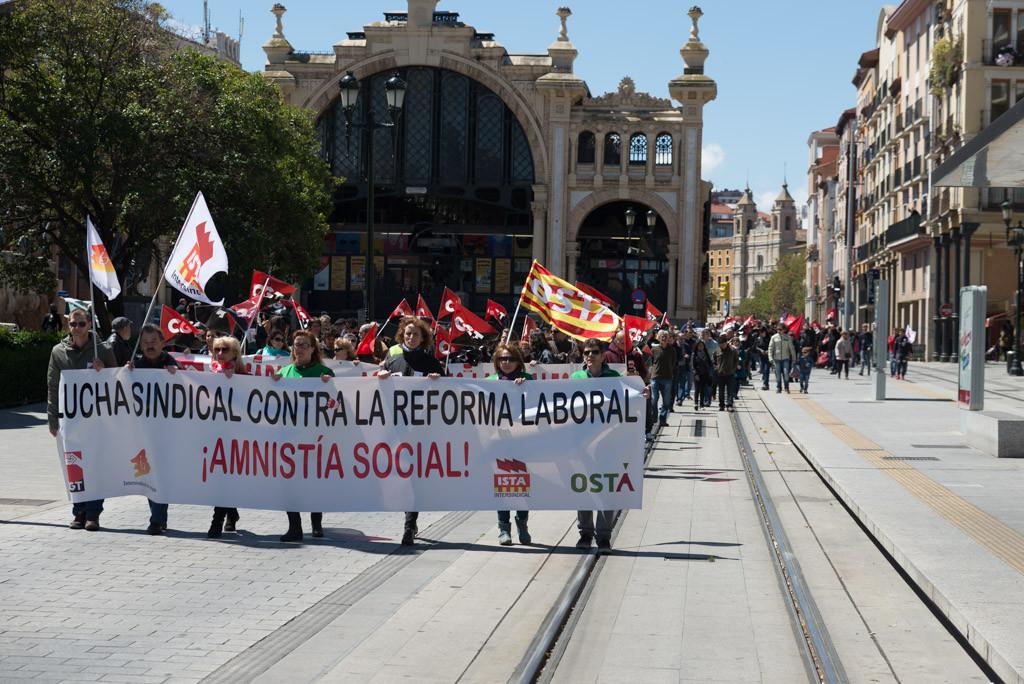 1º de Mayo: Precariedad y temporalidad laboral, principales reivindicaciones para sindicatos y partidos
