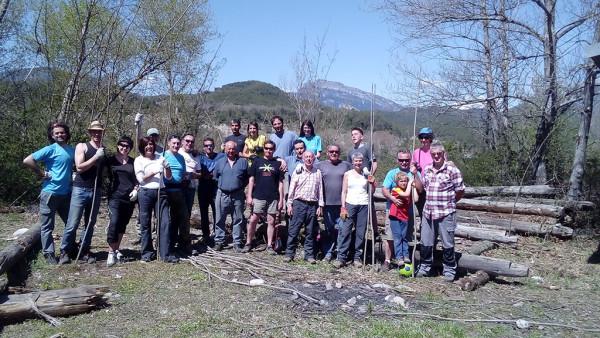 Foto de equipo en Laspuña.