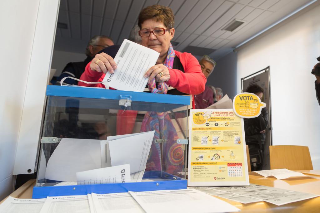 Los Presupuestos Participativos para Zaragoza 2017 llegan a sus dos últimos días de votación final